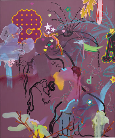 Fiona Rae, 'Tokyo Popeyes', 2004