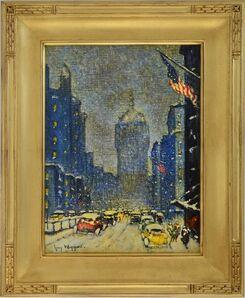 Guy Carleton Wiggins, 'Park Avenue Winter', ca. 1932