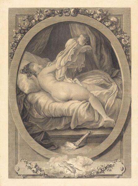 E. Guersant after Jean-Honoré Fragonard, 'La chemise enlevee', 1782