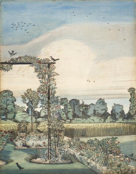 Paul Nash, 'The Garden at Iver Heath', 1912
