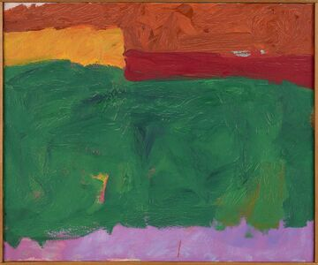 Herman Cherry, 'Green Area', 1959