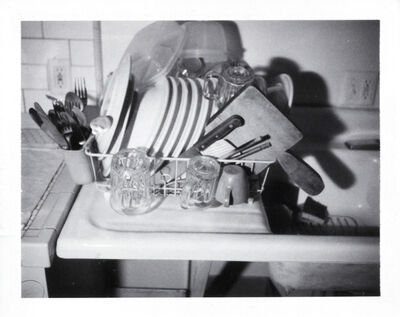 Robert Therrien, 'No title (dish rack and sink)', 2004