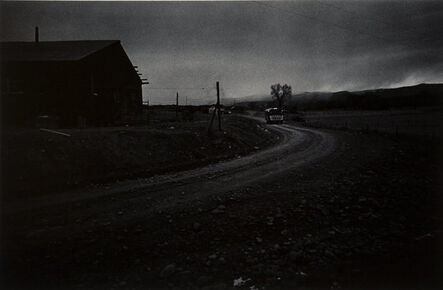Morrie Camhi, 'School Bus at Dawn, Tierra Amarilla, New Mexico (Route 95)', 1978-printed later
