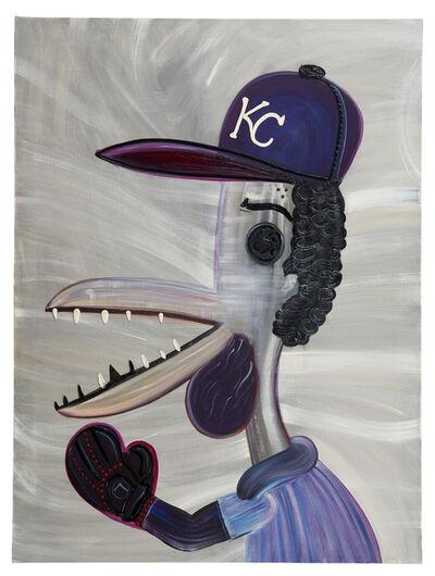 "Abdul Vas, '""Yordano Ventura"" Kansas City Royals', 2017"