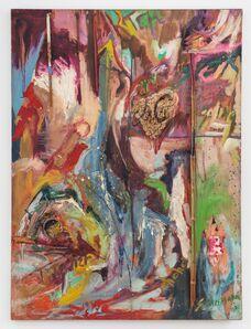 Carolee Schneemann, 'J + C', 1961