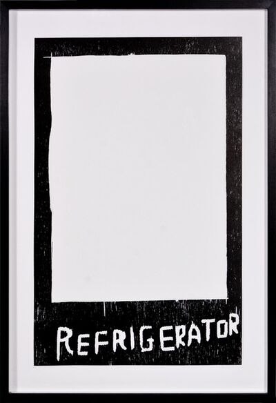 David Shrigley, 'David Shrigley, Refrigerator, 2005', 2005