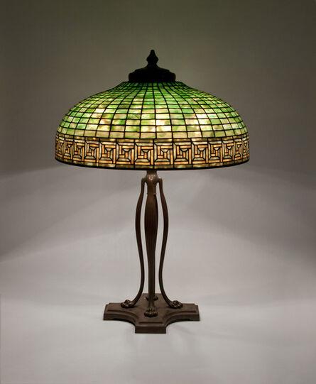 Tiffany Studios, 'Greek Key Table Lamp', ca. 1906