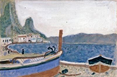 Max Peiffer Watenphul, 'Strand bei Terracina', 1938