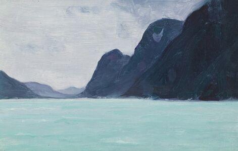 Clarence A. Gagnon, 'La Riviere Vefsna - Helgeland, Norvege', 1934