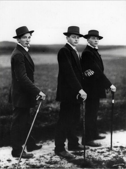 August Sander, 'Jungbauern ( Young farmers), Westerwald', 1914