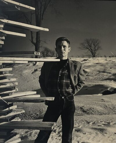 George Platt Lynes, '[Chuck Howard in Provincetown]', ca. 1950