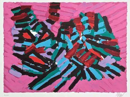Karel Appel, 'About a Cat', 1980