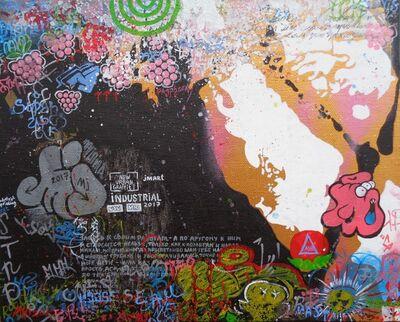 Julia Malinina, 'Graffiti Series. MJ. ', 2017
