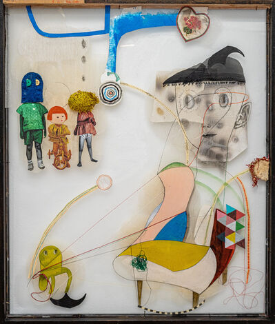 Kaoru Mansour, 'Watching Chair People', 2020