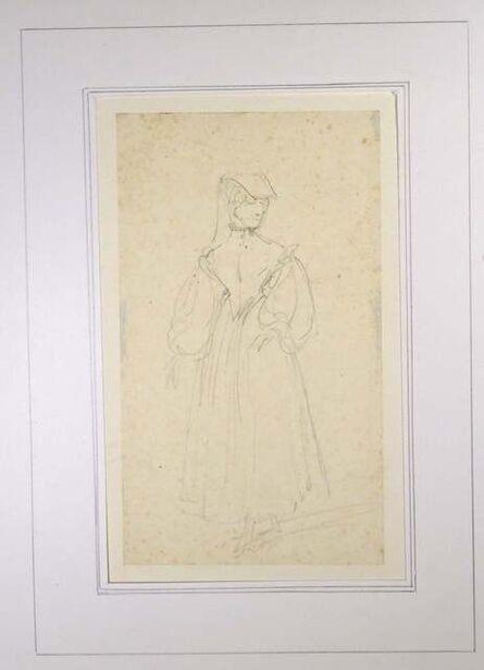 Horace Vernet, 'La Sorrentine ', Mid 1800