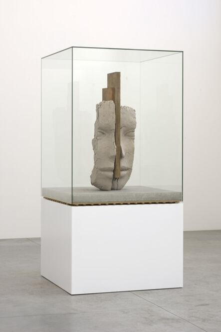 Mark Manders, 'Dry Clay Head on Concrete Floor', 2016