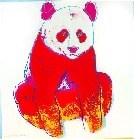 Andy Warhol, 'Giant Panda (FS II.295)', 1983
