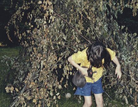 Christian Vogt, 'Girl and Rabbit', 2002