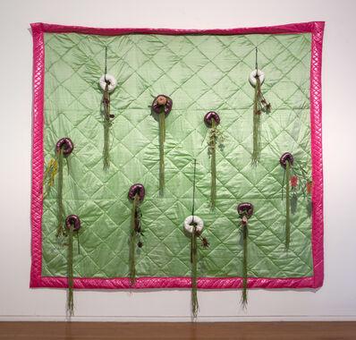 Sarah Contos, 'Vertical Australian Garden Quilt', 2015