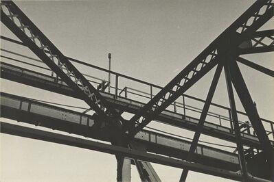 Ralston Crawford, '[Girders with Walkway]', 1935-1940