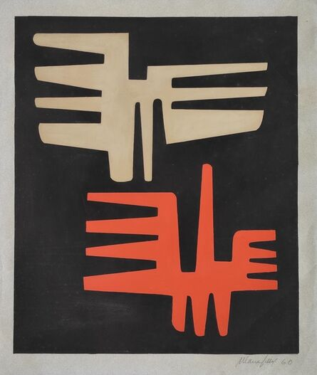 María Freire, 'Formas', 1960
