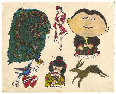 Rosie Camanga, 'Untitled (My Husband Pinup)', 1950-1980