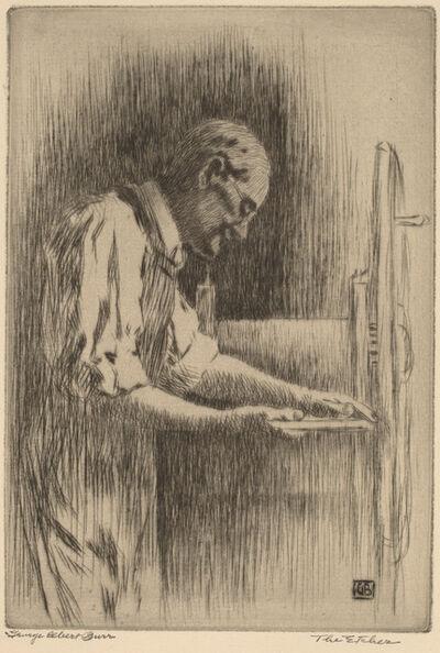 George Elbert Burr, 'The Etcher', ca. 1919