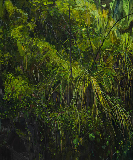 Claire Sherman, 'Grass and Moss', 2018