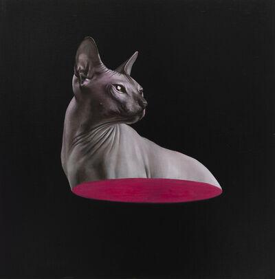 Sam Leach, 'half cat', 2020