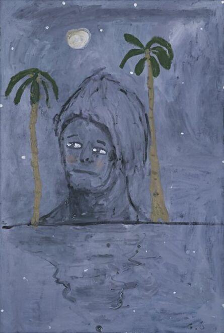 Georg Oskar Giannakoudakis, 'Stuck between two palm trees with the moon over my head', 2019