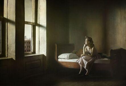 Richard Tuschman, 'Woman and Man On A Bed', 2012