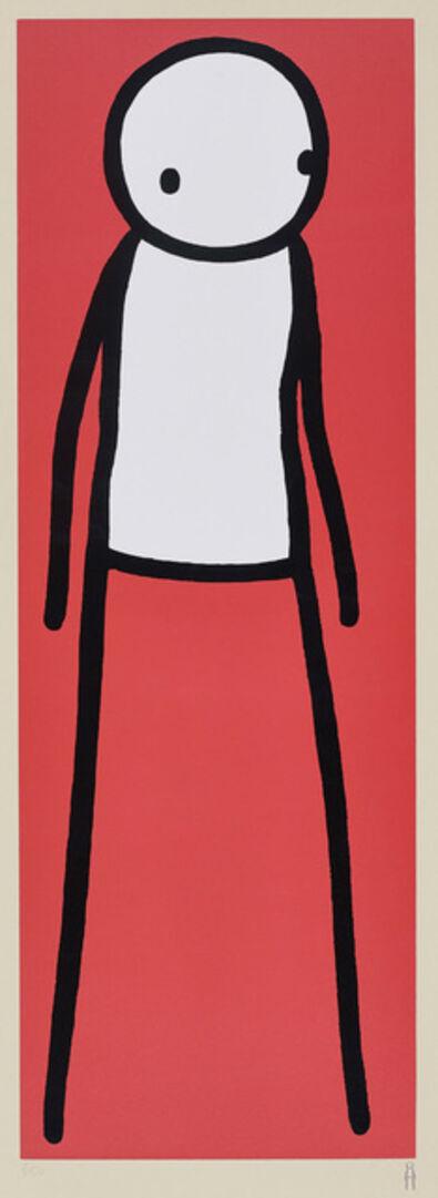Stik, 'Walk (Red)', 2012