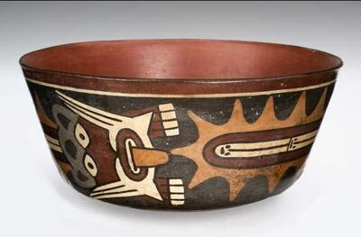 Unknown Artist, 'Bowl with Mythological Being', 500-300