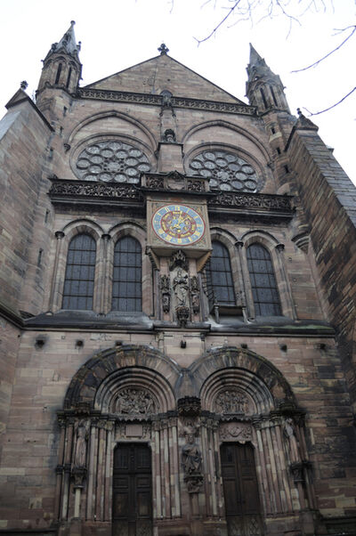 'Strasbourg Cathedral: south transept', ca. 1240
