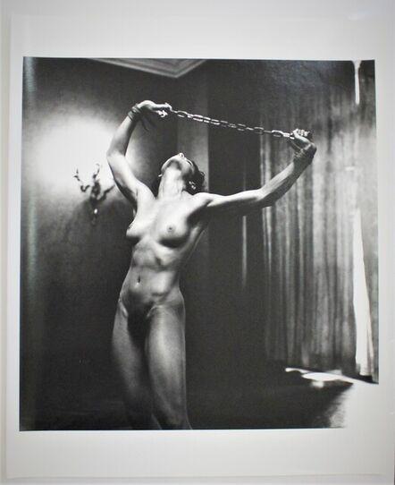Helmut Newton, 'Lisa Lyons in Paris III', 1980