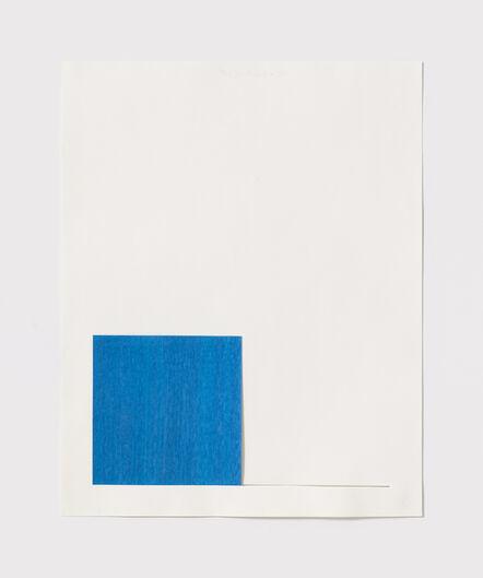 Stephen Antonakos, 'Untitled Cut, S#7', 1977