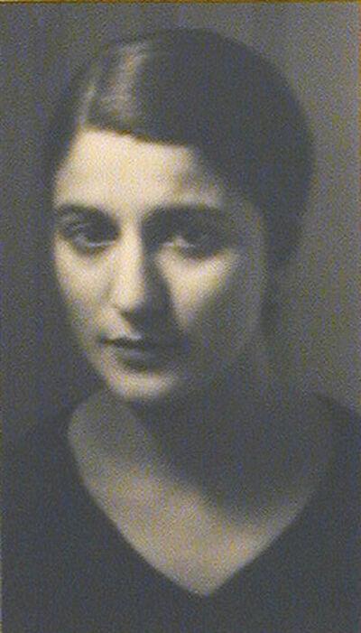 André Kertész, 'Portrait of Mlle Jaffe', 1927