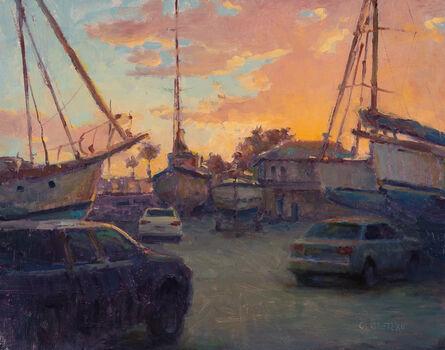 Carl Bretzke, 'Boat Yard Sunset', 2017