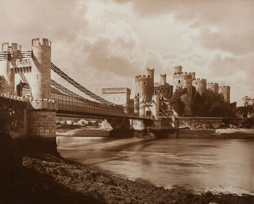 Adolphe Braun, 'Conwy Castle in Wales', 1900c/1900c