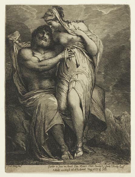James Barry, 'Jupiter and Juno on Mount Ida.', 1777-1790