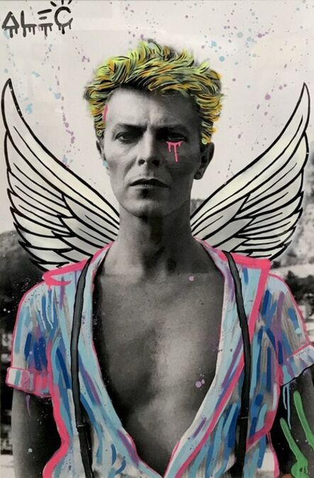 Alec Monopoly, 'Wings Over Bowie', 2017
