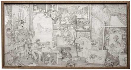 Ariel Martín Bassano, 'Self-Portrait in the Sense of Sight', ca. 2021