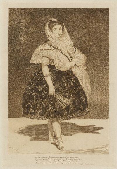 Édouard Manet, 'Lola de Valence', 1862