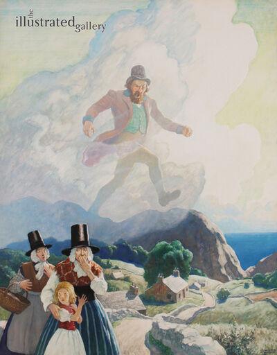 N.C. Wyeth, 'The Man of Wales', 1938