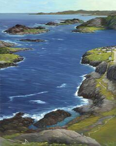 Ross Penhall, 'Brimstone Head Fogo island', 2019