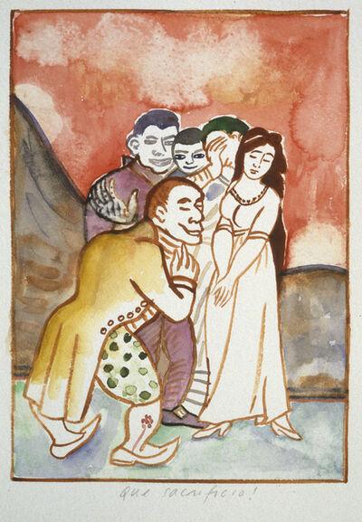 Fay Jones, 'Los Caprichos (#14 Que sacrificio!)', 2000
