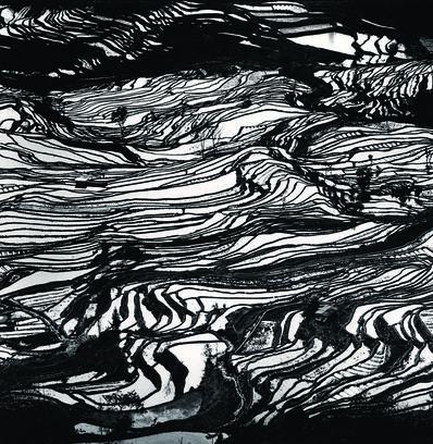 Michael Kenna, 'Yuanyang, Study 3, Yunnan, China', 2013