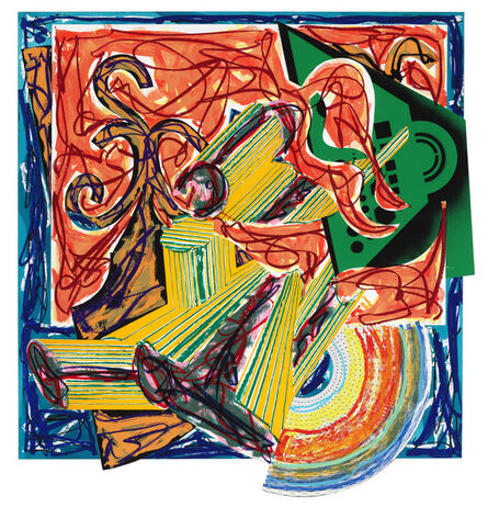 Frank Stella, 'The Butcher Came and Slew the Ox', 1984