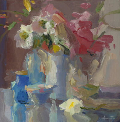 Christine Lafuente, 'Pink Carnations and Fallen Daisy', 2020