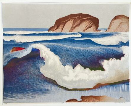 Murray Griffin, 'The Wave', ca. 1934